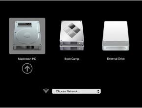 Image of Disk Selection Menu