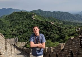 Me Unhappy at the Great Wall Of China