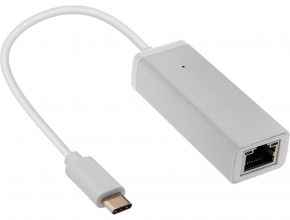 An Ethernet to USB-C Adapter