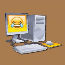 Computer Joke Photo