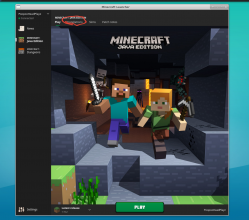 Location of Installations on the Top Menu of the Minecraft Launcher