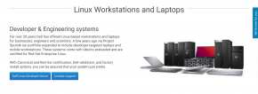 Dell Linux Page