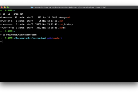 How to install ZSH on Mac