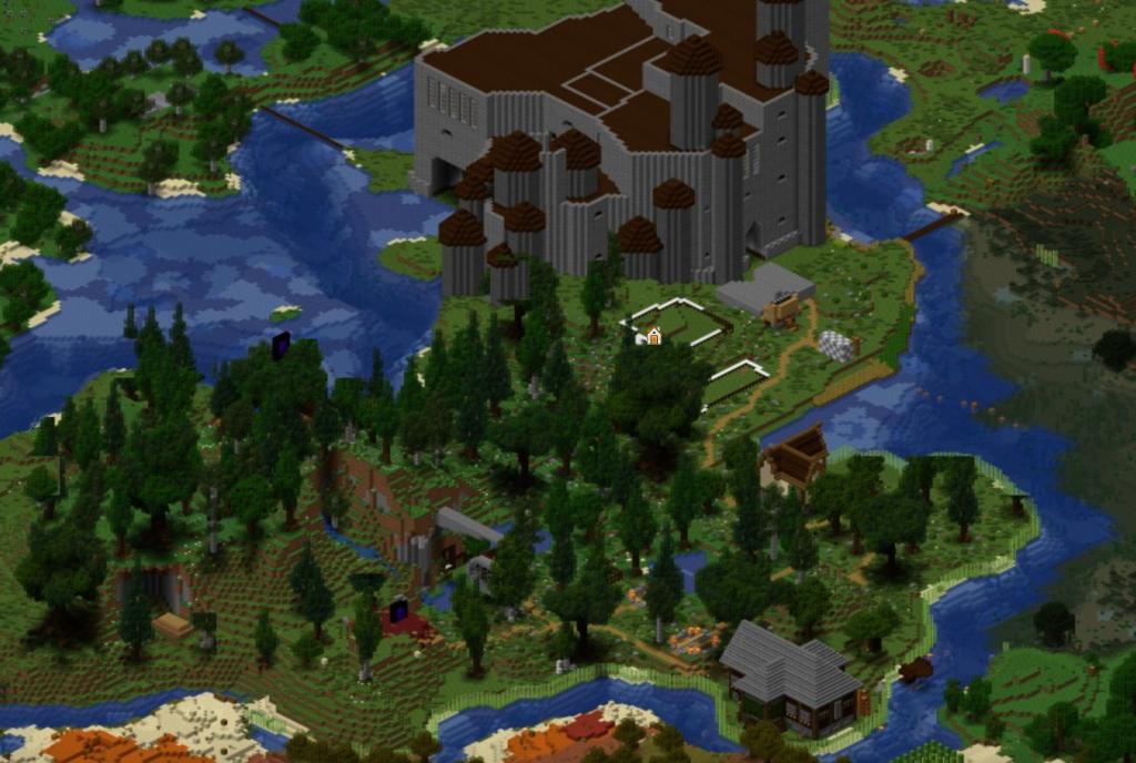 Dynmap, a minecraft spigot best plugin that creates a live map