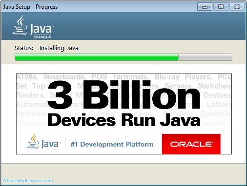 The Java vs C# installer
